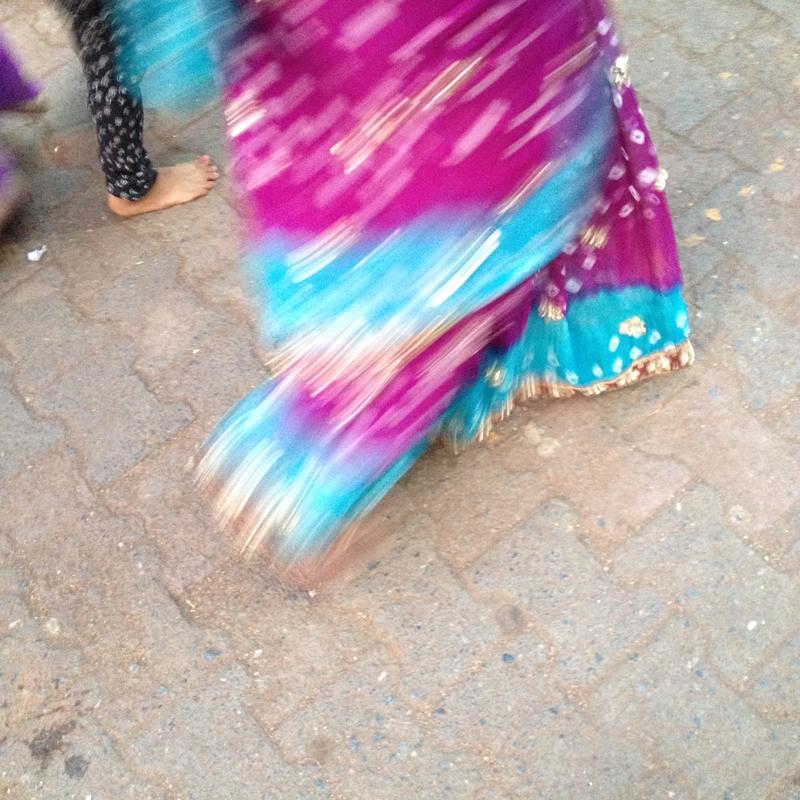 i-escape blog / Delhi sari