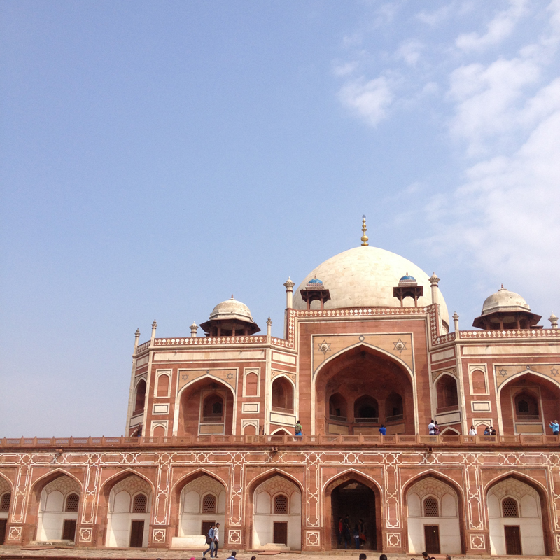 i-escape blog / Humayun's Tomb Delhi