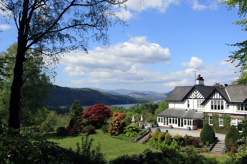 i-escape blog / 8 romantic UK getaways / Linthwaite House Hotel, Lake District