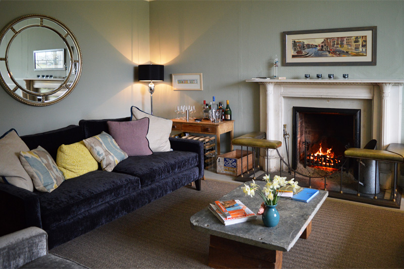 i-escape blog / 8 romantic UK getaways / Trewornan Manor, Cornwall