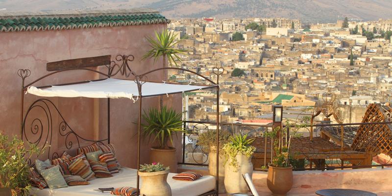 i-escape blog / Riad Laaroussa Morocco