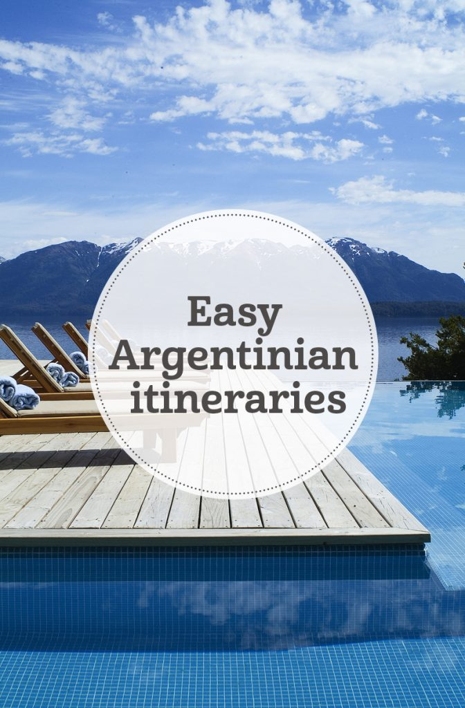 i-escape blog / Easy Argentina itineraries