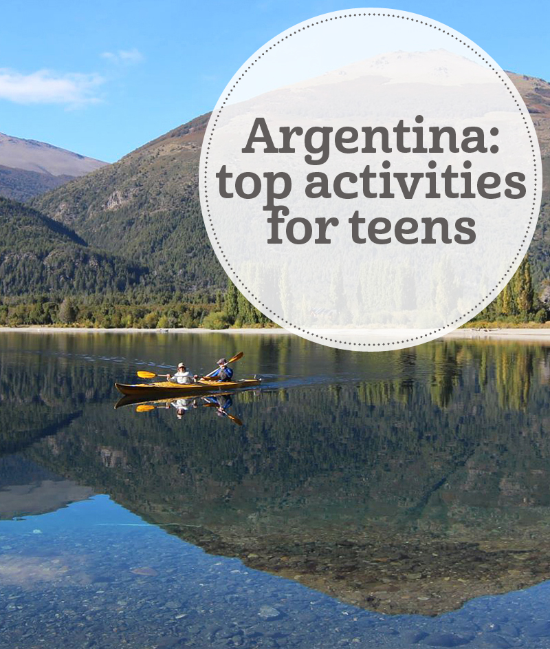 i-escape blog / Argentina: top activities with teens