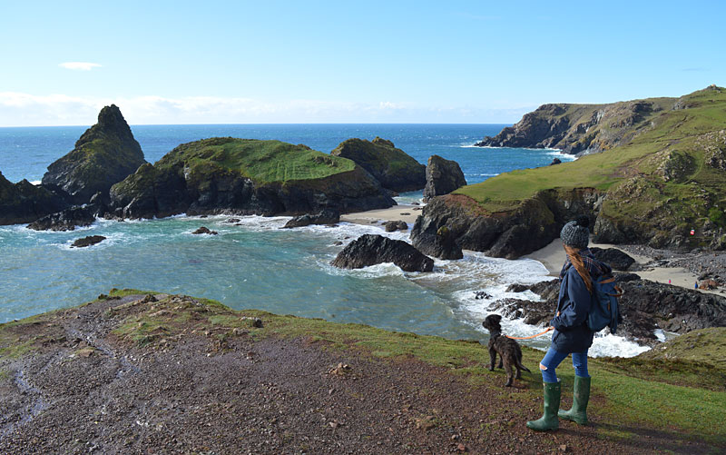 i-escape blog / Just back from dog-friendly hotels Cornwall / Kynance Cove, Cornwall
