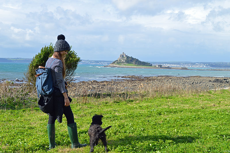 i-escape blog / Just back from dog-friendly hotels Cornwall / St Michaels Mount, Cornwall