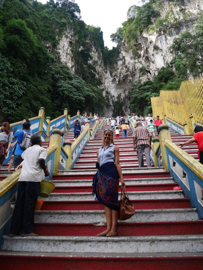 i-escape blog / Exploring Kuala Lumpur, Pangkor and Penang / Emily at Batu Caves