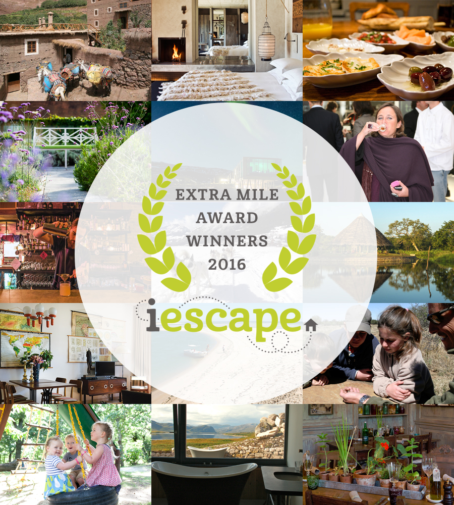 i-escape blog / i-escape Extra Mile Award Winners 2016