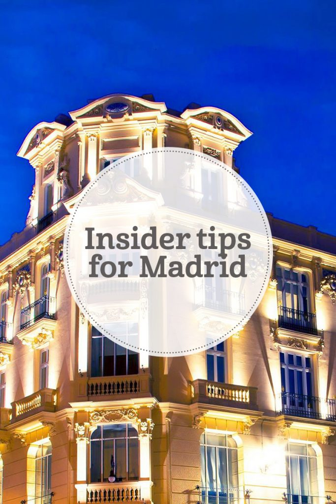 i-escape blog / Insider tips for Madrid