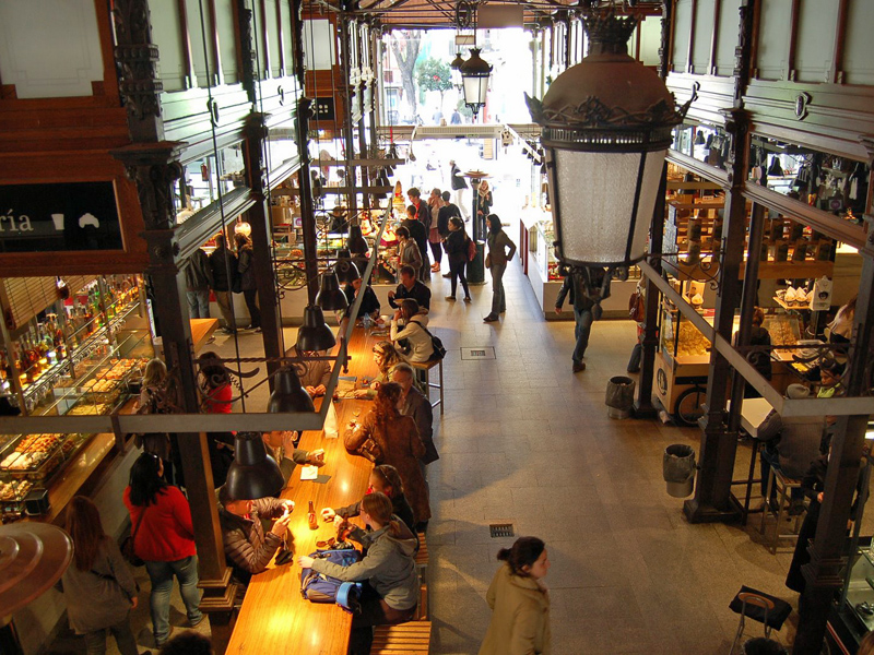 i-escape blog / Insider tips for Madrid / Mercado de San Miguel