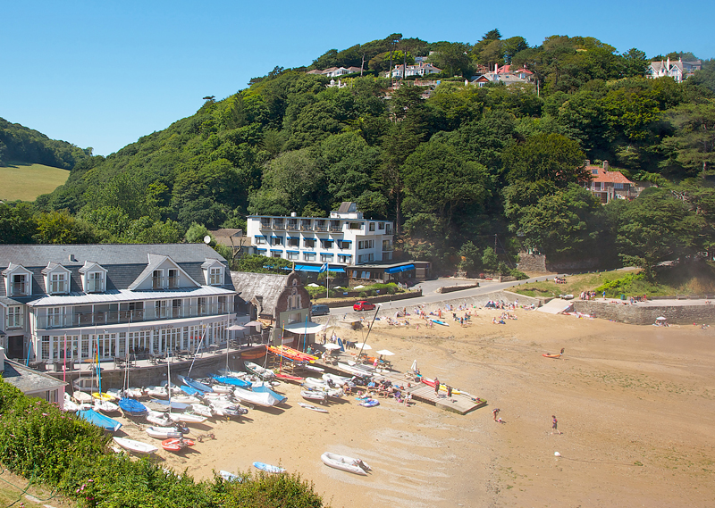 i-escape blog / UK family holidays 2017 / South Sands Boutique Hotel