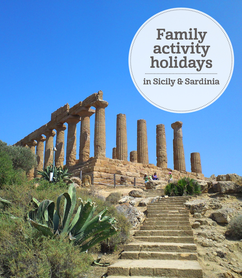 i-escape blog | Sicily and Sardinia | family activity holidays