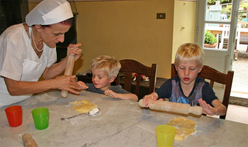 i-escape blog / A fun family holiday in Italy / Villa Pia cookery course