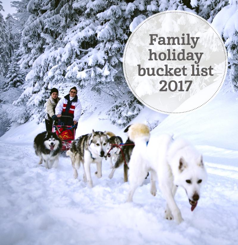 i-escape blog / Family holiday bucket list 2017