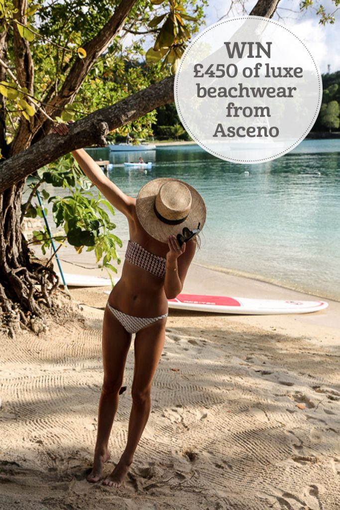 i-escape blog / WIN £450 to spend on luxury beachwear from Asceno / Lucy Williams