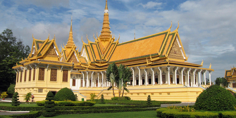 i-escape blog / Tailor-made Tours Cambodia / Royal Palace
