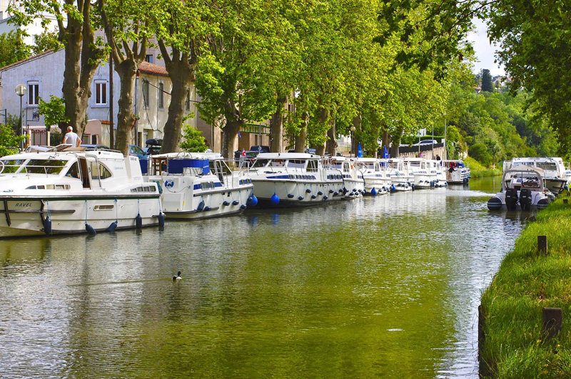 The i-escape blog / Fabulous French road trips / Canal du Midi, Languedoc