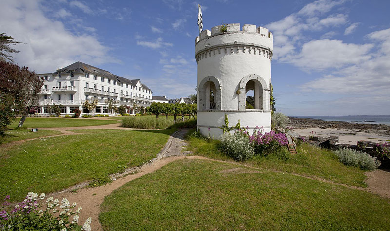 i-escape blog / active holidays France / Grand Hotel des Bains Brittany