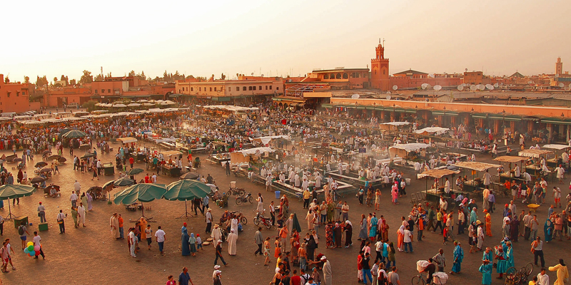 i-escape blog / Tailor-made Tours Morocco / Djemaa el Fna