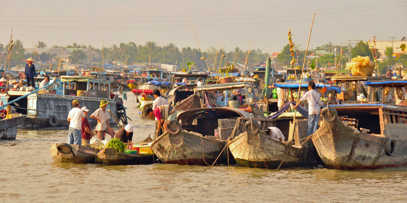 i-escape blog / Tailor-made Tours Vietnam / Floating Market