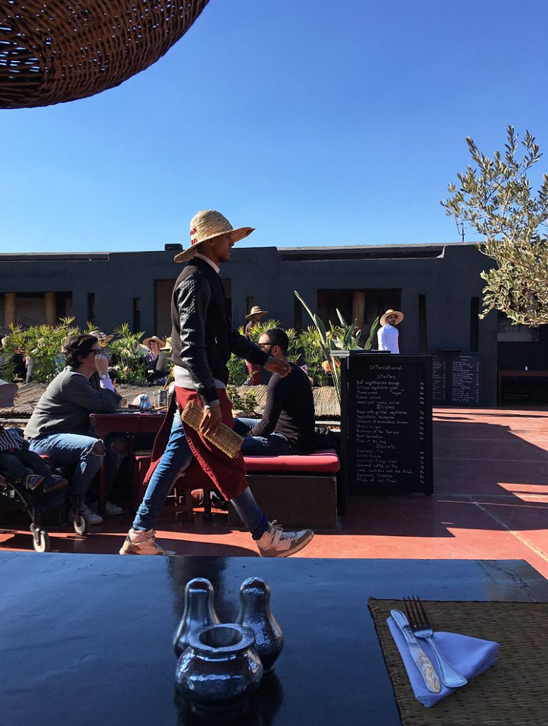 i-escape blog / Top Tips for Marrakech / La Terrace des Epices Marrakech