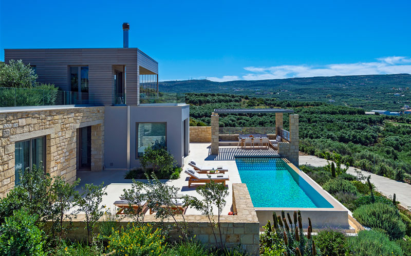 i-escape blog / Family Escapes for Half-term / Cretan Contemporary Villas, Crete