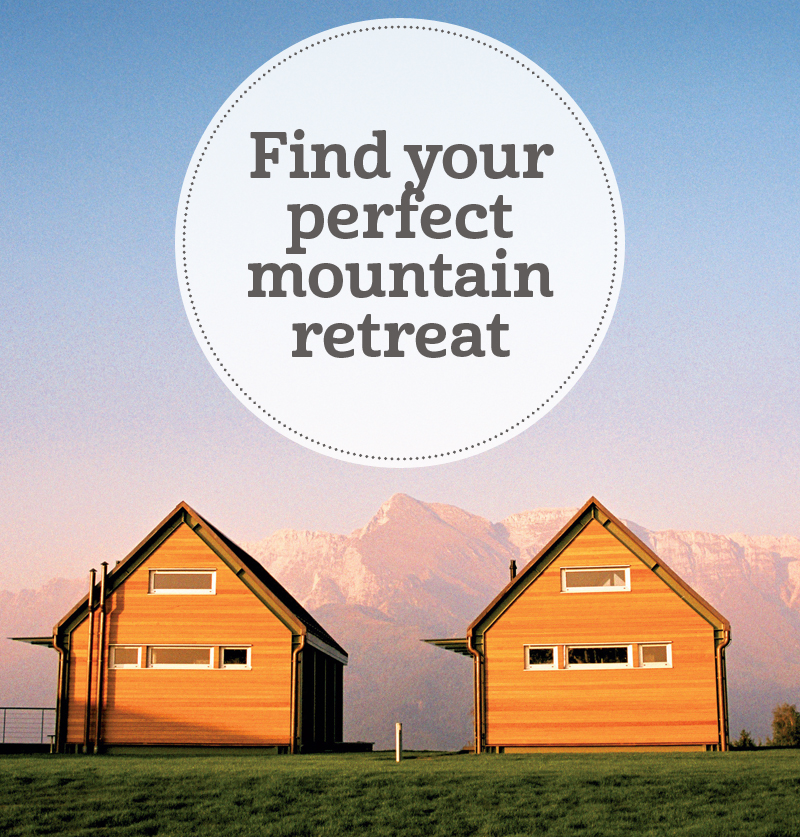 i-escape blog / Find your perfect mountain retreat