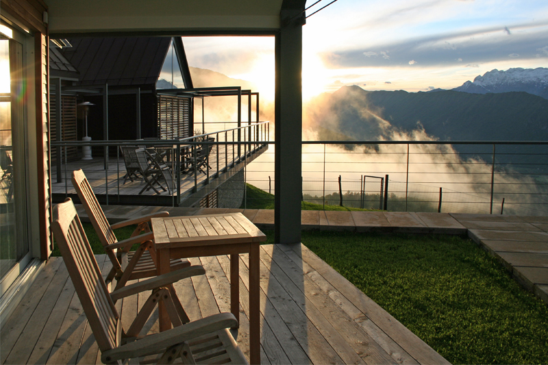 Find your perfect mountain retreat / Nebesa, Slovenia