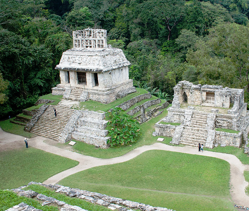 i-escape blog / 5 must-sees in Mexico / Palenque ruins