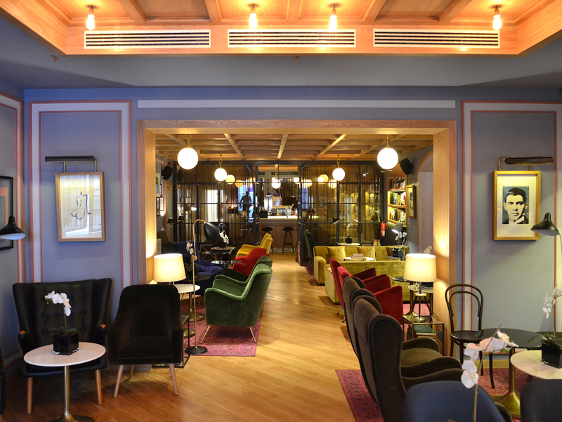 i-escape blog / 5 cool hotels in Lisbon / Brown's Central Hotel