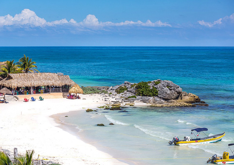 i-escape blog / Mexico Beach Holiday / Zamas, Tulum, The Yucatan