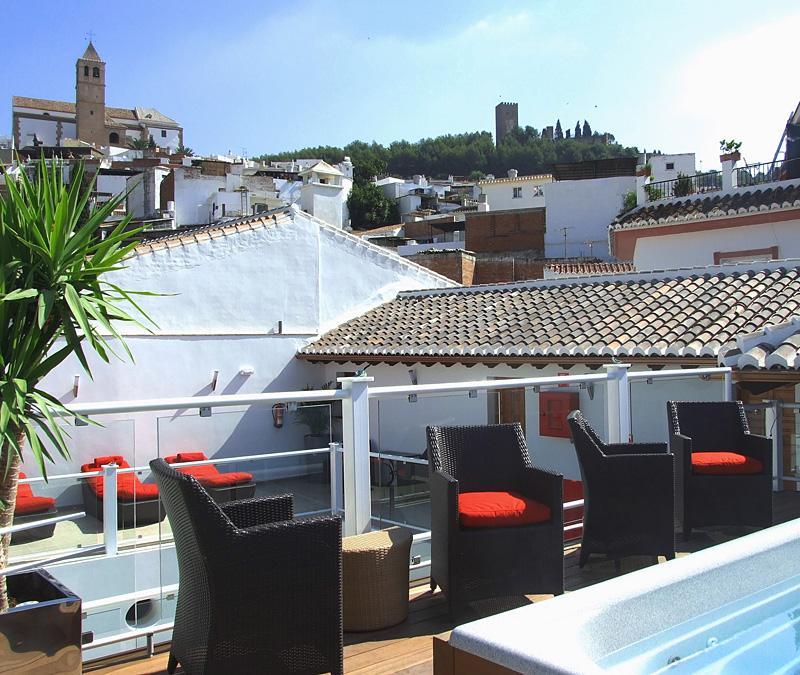 i-escape blog / Easy car-free breaks / Hotel Palacio Blanco, Velez-Malaga, Spain