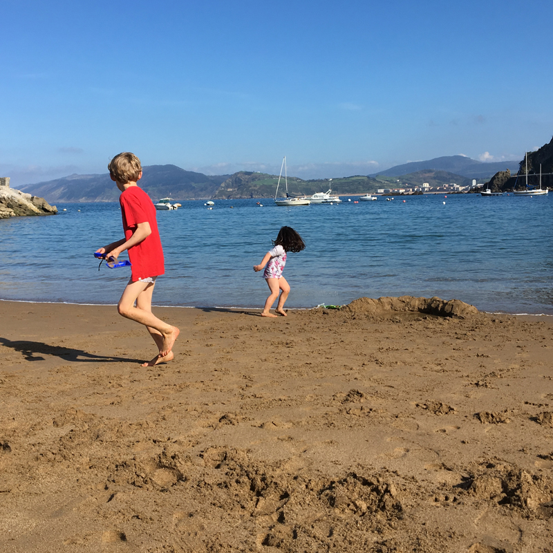 i-escape blog / Holidaying in Northern Spain with kids / Ea Astei