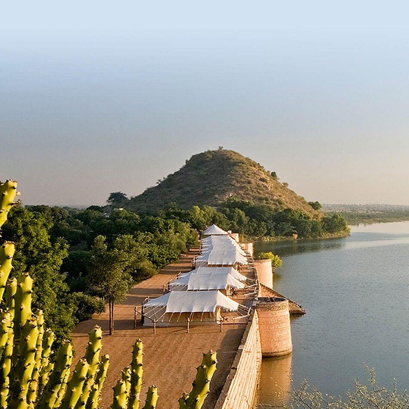 i-escape blog / 5 Quirky Places to Stay in India / Chhatra Sagar