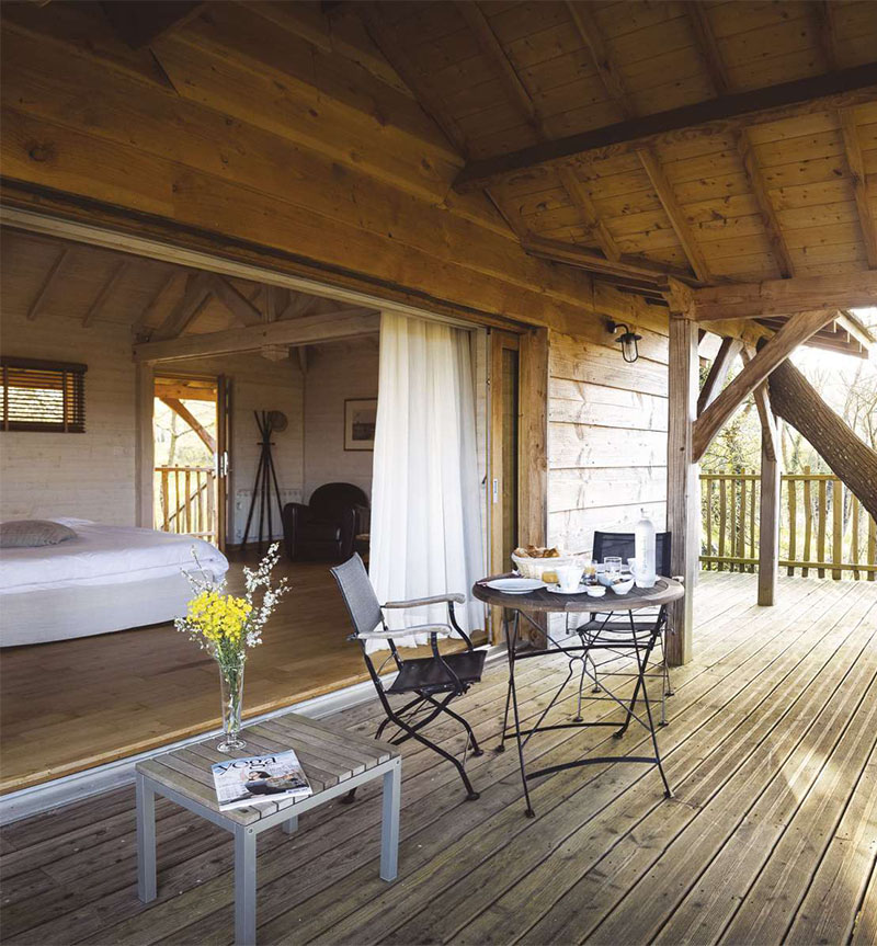 i-escape blog / Top 5 Luxury Treehouses / La Gree des Landes, Brittany, France