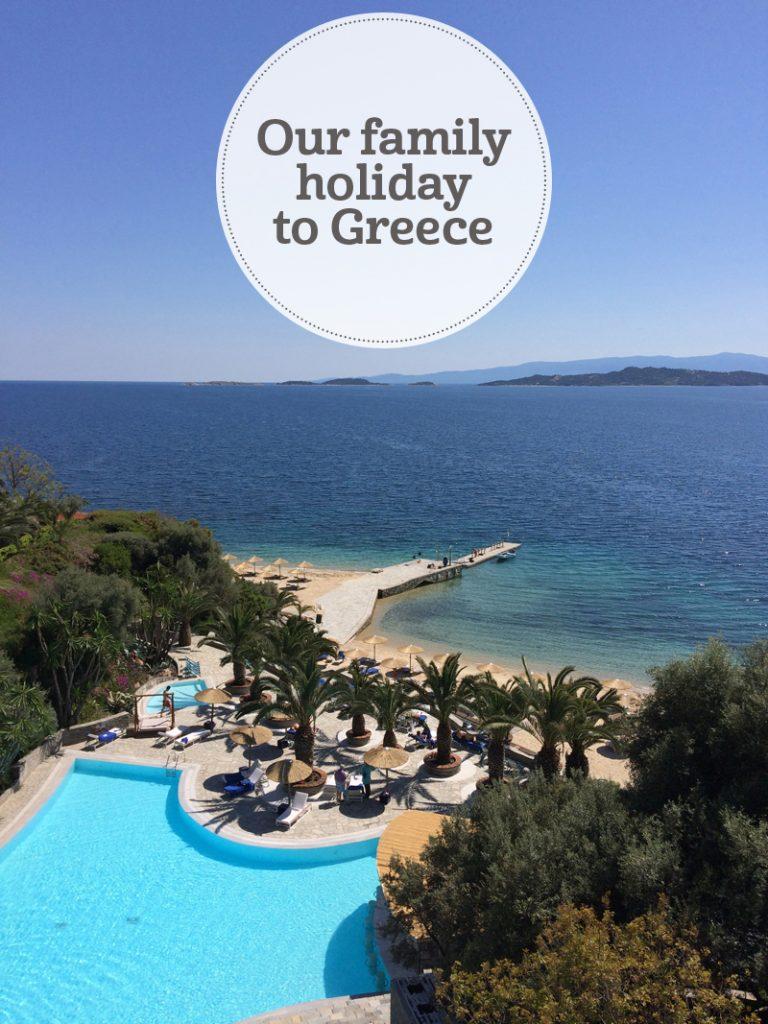 i-escape blog / Our family holiday to Greece
