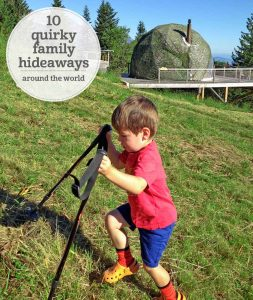 The i-escape blog / 10 quirky family hideaways worldwide