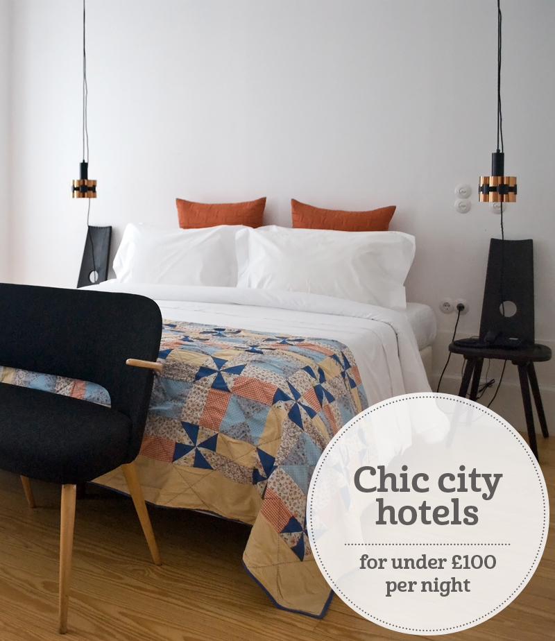 i-escape blog / Chic city hotels for under £100