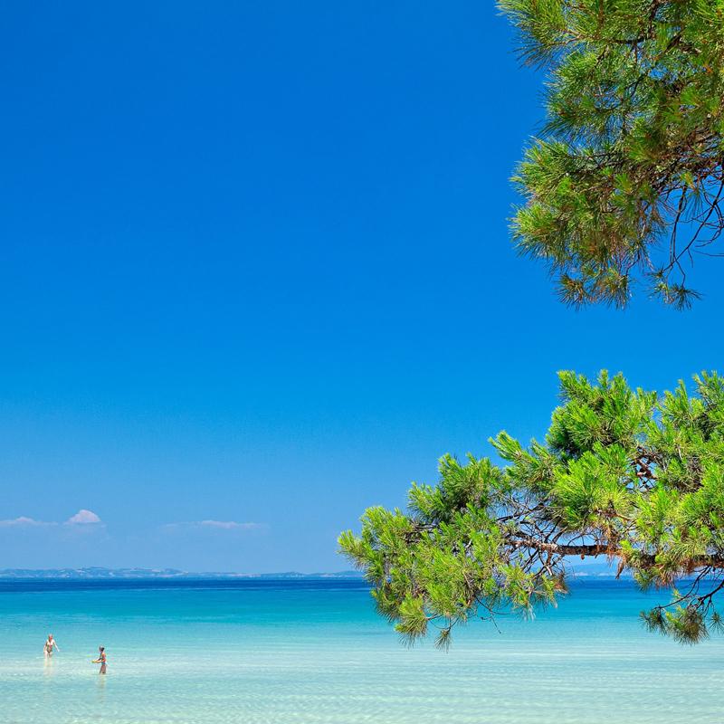 i-escape blog / Our family holiday to Greece / Sithonia beach