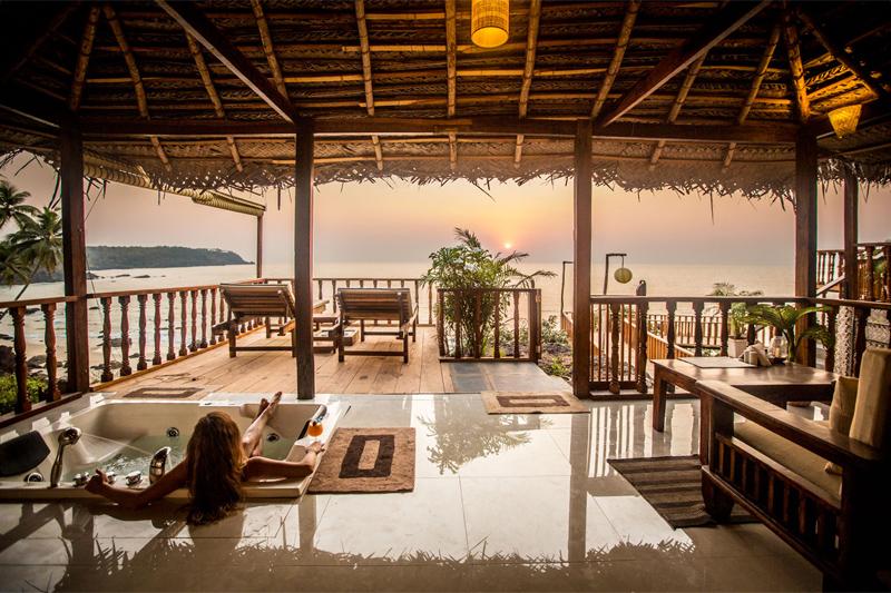 The i-escape blog / 5 honeymoon hideaways in Goa / The Cape Goa