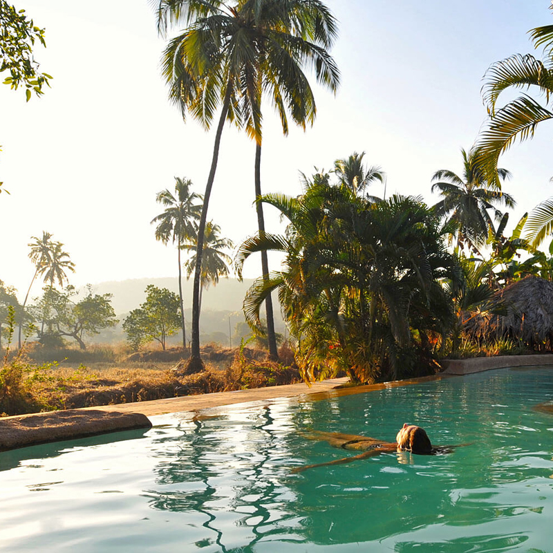 i-escape blog / 5 Quirky Places to Stay in India / YogaMagic Eco Retreat