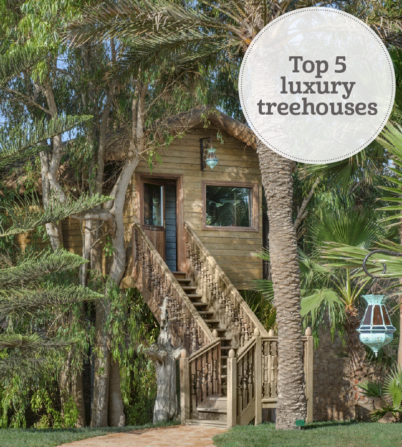 i-escape blog / Top 5 luxury treehouses