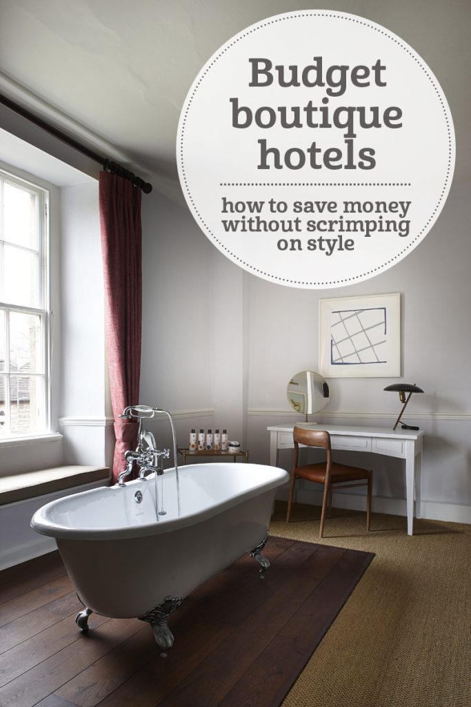 The i-escape blog / Budget boutique hotels - how to save money without scrimping on style