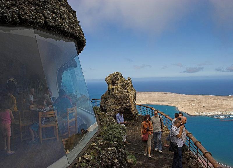 The i-escape blog / Our first family holiday in Lanzarote with 2 babies / El Mirador del Rio / © afrank99
