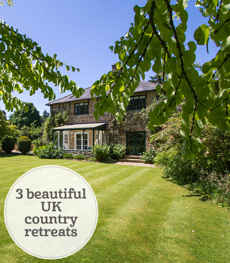 The i-escape blog / Just back from... 3 UK country retreats