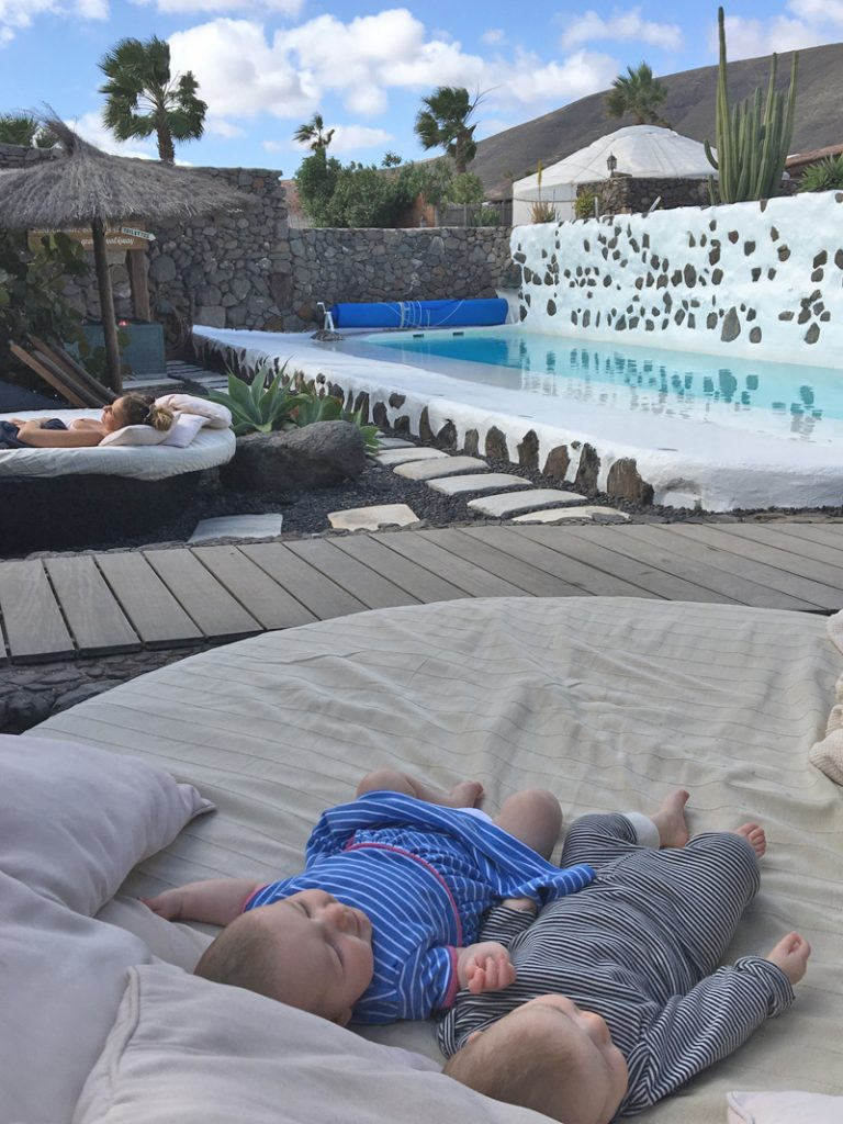 The i-escape blog / Our first family holiday in Lanzarote with 2 babies / Finca de Arrieta