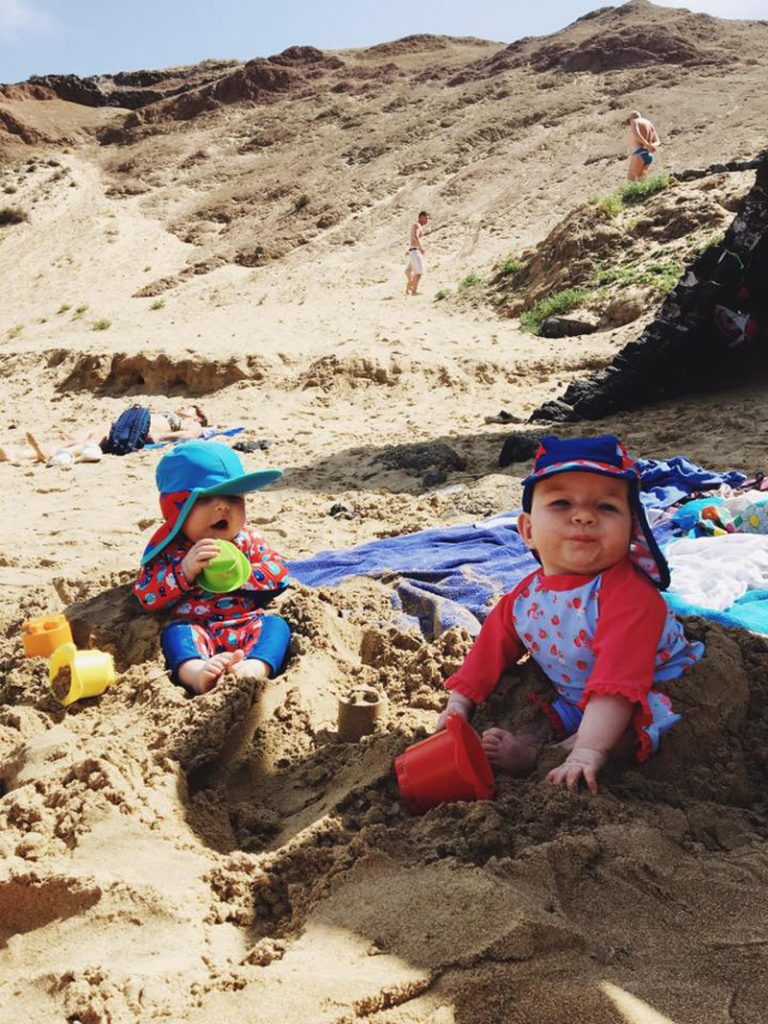 The i-escape blog / Our first family holiday in Lanzarote with 2 babies / Papagayo beaches