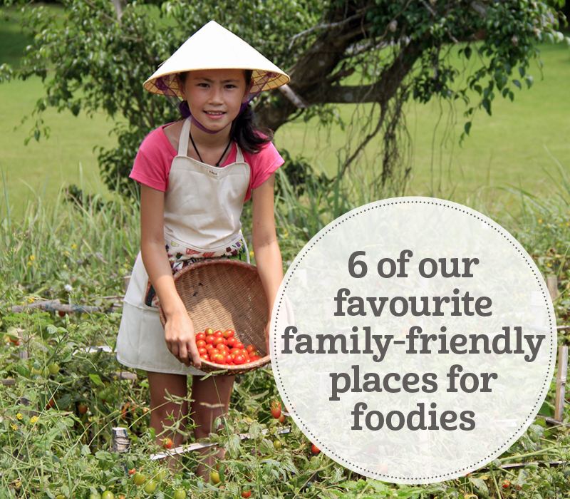 i-escape blog / 6 Family-friendly Foodie Places to Stay /