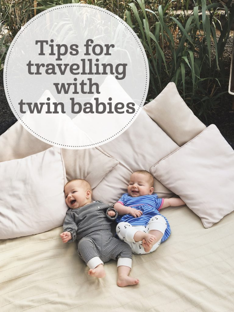 The i-escape blog / Travel tips with twin babies