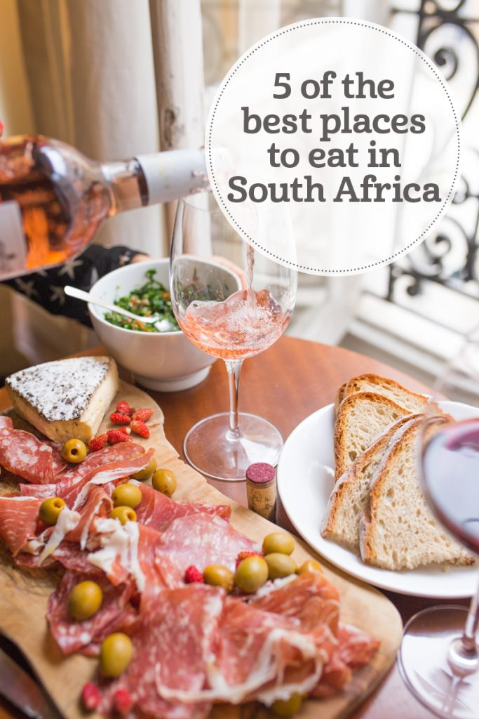 i-escape blog / 5 of the best places to eat in South Africa
