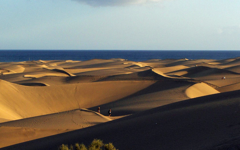 i-escape blog / Canary Islands Family Adventures / Gran Canaria Maspalomas sand dunes
